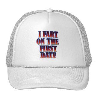 Drôle - je pète la première date casquette trucker