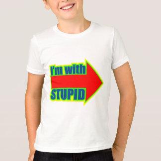 Drôle je suis avec les cadeaux stupides de t-shirt