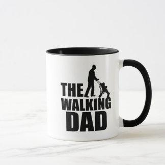 Drôle la tasse de café de marche de papa