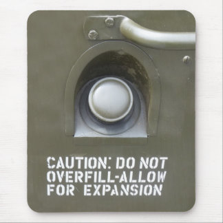 Drôle ne faites pas au-dessus de l'avertissement d tapis de souris