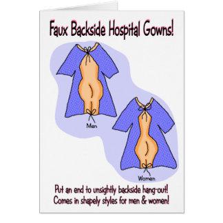 Drôle obtenez la carte bonne :  Humour de robe