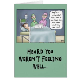 Drôle obtenez la carte bonne : Nouveau docteur