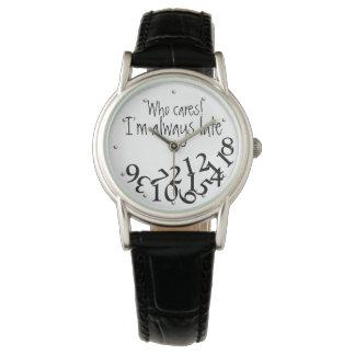 Drôle qui s'inquiète, je suis toujours défunt montres bracelet