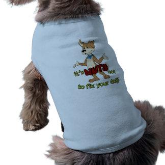 Drôle stérilisez/neutre t-shirt pour chien