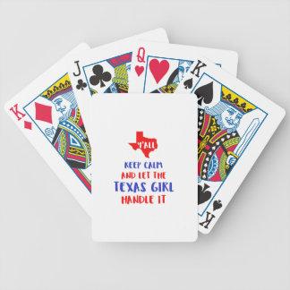 Drôle vous tee - shirt de fille du Texas Jeu De Poker