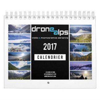 Drone Alps 2017 Calendrier Mural