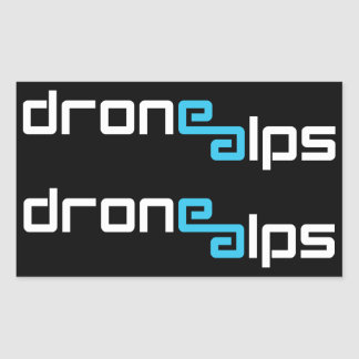 Drone Alps Sticker Pack