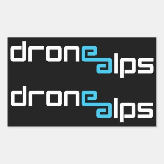 Drone Alps Sticker Pack
