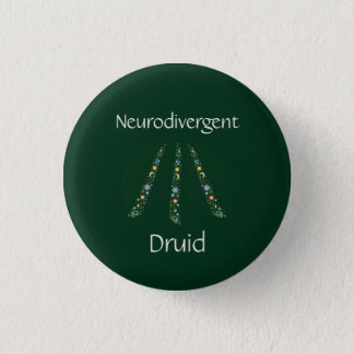 Druide de Neurodivergent Badge