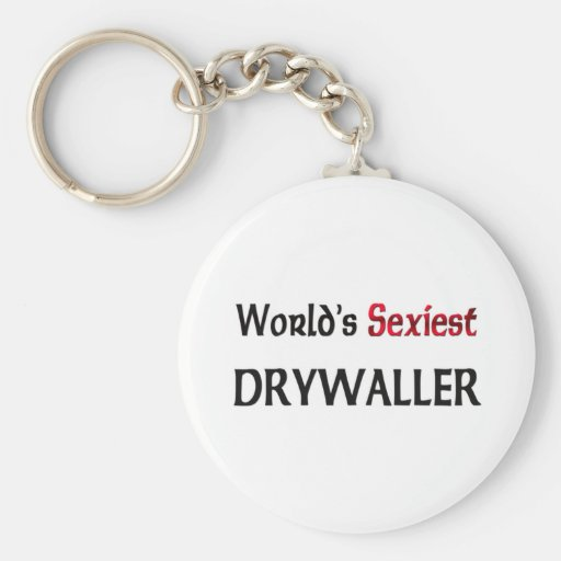 Drywaller le plus sexy du monde porte-clefs
