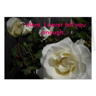 DSCN0261, maman, je ne vous dis jamais assez… Carte De Vœux