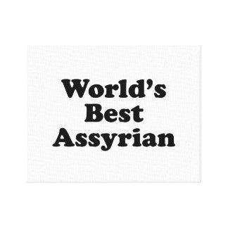 Du monde l'Assyrien mieux Toile
