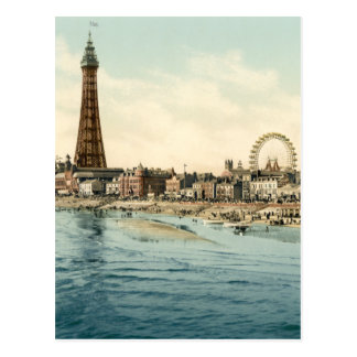 Du pilier central, Blackpool, Angleterre Cartes Postales