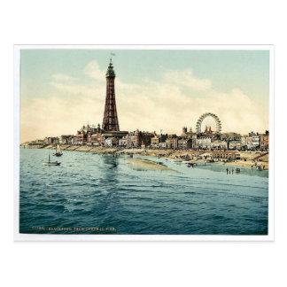 Du pilier central, cru Phot de Blackpool, Carte Postale