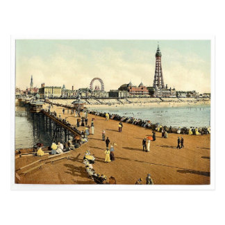 Du pilier du nord, cru Photoc de Blackpool, Cartes Postales