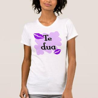 DUA de Te - Albanais - je t'aime T-shirt