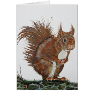 Dubbele la carte écureuil