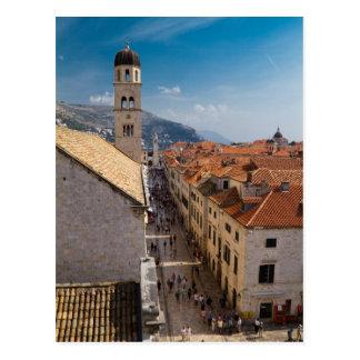 Dubrovnik, carte postale de la Croatie