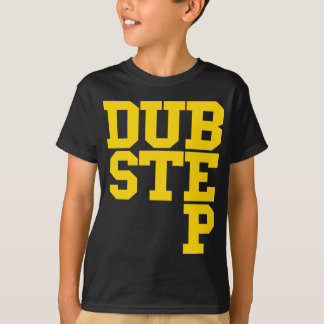 Dubstep Blockletter (or) T-shirt