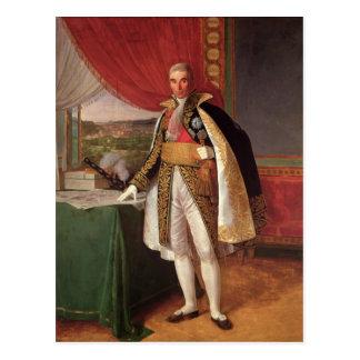 Duc d'André Massena de maréchal de Rivoli, 1814 Carte Postale