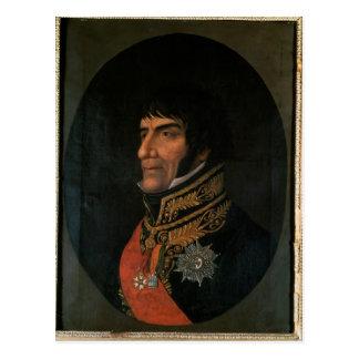 Duc de Francois Lefebvre de Dantzig Carte Postale