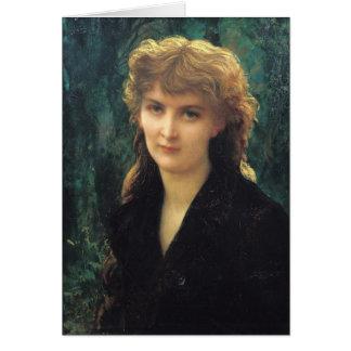 d'Uckermann 1884 de Baronness Eleonore Carte De Vœux