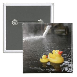 Duckies en caoutchouc japonais badges