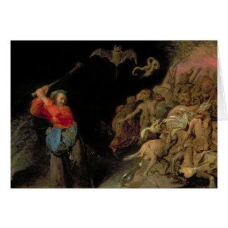 Dulle Griet pillant l'enfer Carte De Vœux