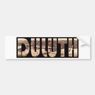 duluth1883 autocollant pour voiture