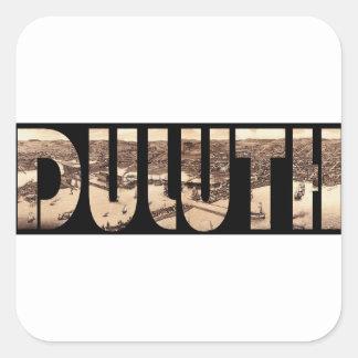 duluth1883 sticker carré