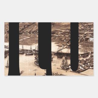 duluth1883 sticker rectangulaire