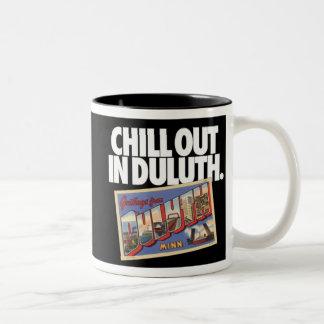 Duluth vintage Minnesota refroidissent à Duluth Tasse 2 Couleurs