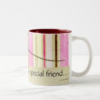 D'un ami spécial… mug bicolore