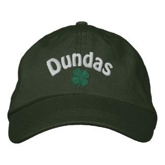 Dundas - trèfle de quatre feuilles - customisé casquette brodée