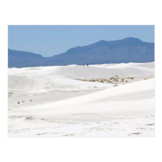 Dunes avec le Mountain View Carte Postale