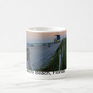 Dunes de Miami Beach de tasse de café