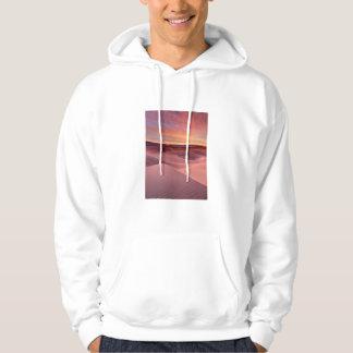 Dunes de sable roses, Death Valley, CA Veste À Capuche