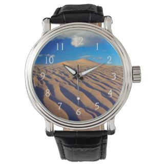 Dunes et nuages de sable montres bracelet