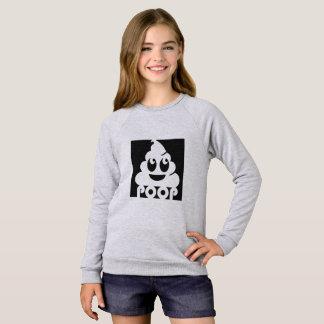 Dunette carrée d'Emoji Sweatshirt