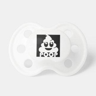 Dunette carrée d'Emoji Tétines Pour Bébé