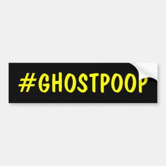 Dunette de fantôme de Hashtag Autocollant De Voiture