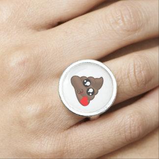 Dunette Emoji de coeur Bague