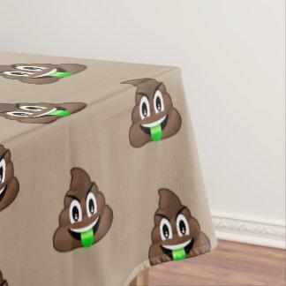 Dunette folle Emoji de langue verte Nappe