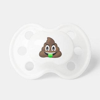 Dunette folle Emoji de langue verte Tétine
