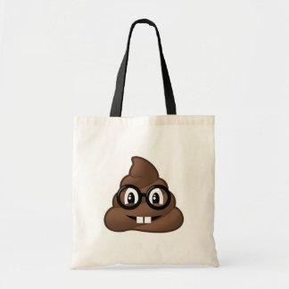 Dunette nerd Emoji en verre Sacs En Toile
