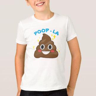 Dunette - T-shirt heureux de Poo Emoji de La