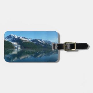 D'université belle Alaska photographie du fjord II Étiquette À Bagage