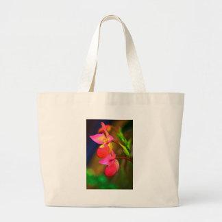 Duo stylisé de fleur d'orchidée de Phragmipedium Grand Sac