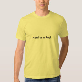Dur comme roche t-shirts