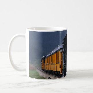 Durango et Silverton, tasse de train de vapeur